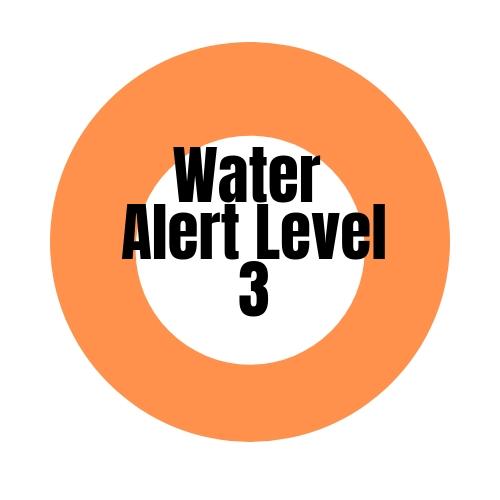 Water Alert Level 3